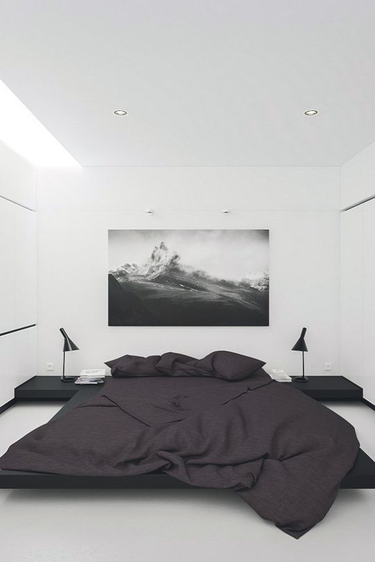 Minimalist Bedroom Ideas Pinterest