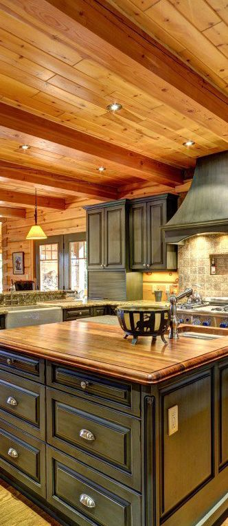 Rustic Kitchen Cabinets Cheap