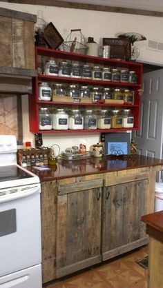 Rustic Kitchen Cabinets Pinterest