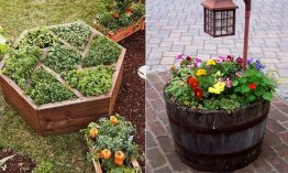 20 DIY Flower Bed Concepts For Your Backyard