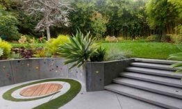 20 Pleasing Concrete Built-in Planters for the Backyard