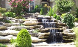 Beautify Your Garden With a Wall Waterfall Outdoor Fountain Kits