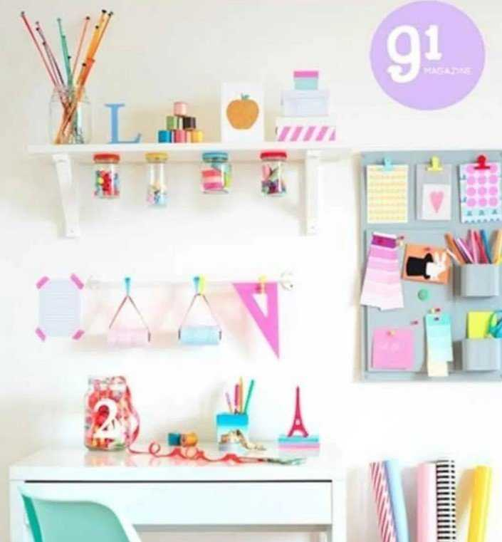 Awesome DIY Craft Desk Ideas – Source Mykinglist.com