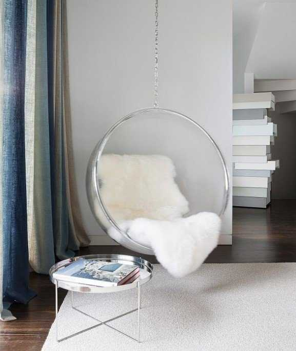 Clear Hanging Chair