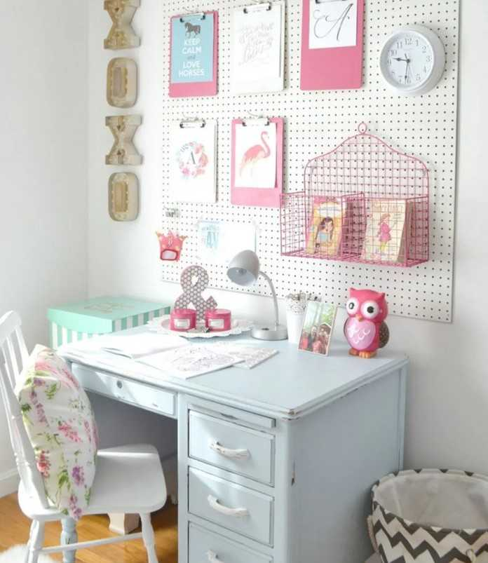 DIY Craft Desk Design Ideas – Source Koees.com