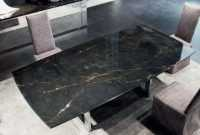 Black Marble Kitchen Table Ideas – Source: lusapress.com