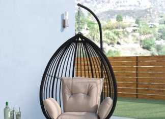 Tear Drop Style Hanging Chair
