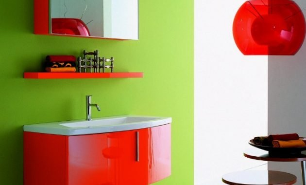 Beautiful Painting Bathroom Cabinets Color Ideas