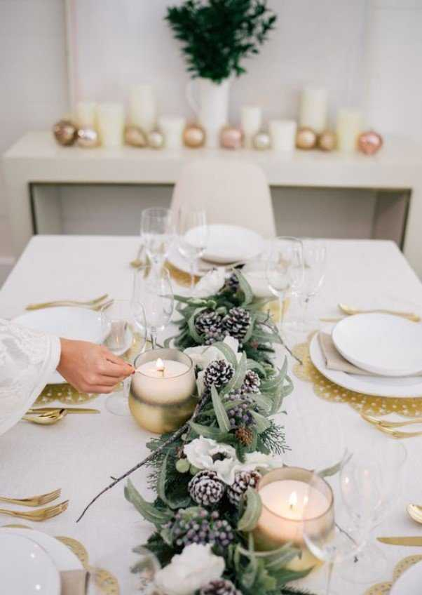 A Glam Winter Tablescape