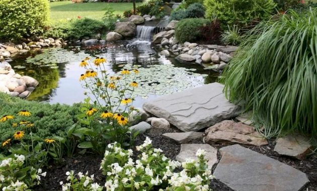 A More Natural Looking Garden Pond
