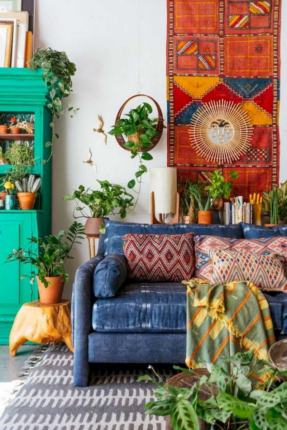 Create Your Interior Decoration With Boho Style