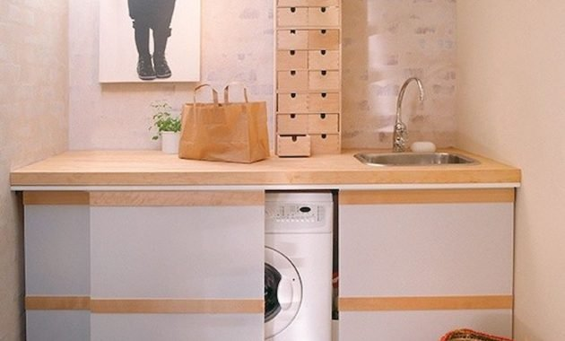 Creative Ways To Hide A Washing Machine In Your Home 10 554x561