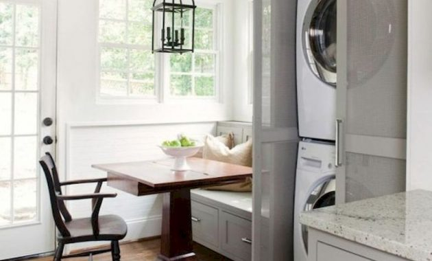 Creative Ways To Hide A Washing Machine In Your Home 12 554x813