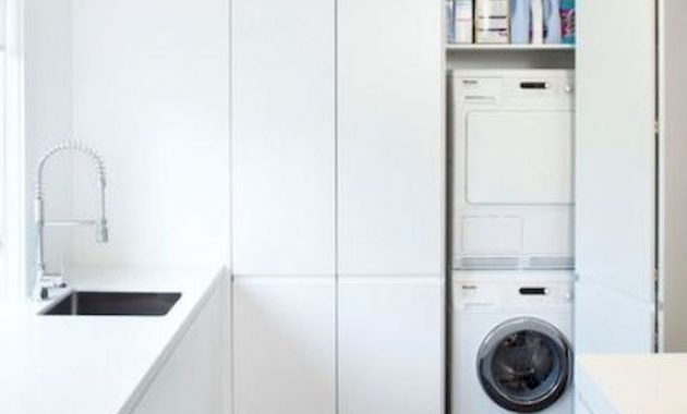 Creative Ways To Hide A Washing Machine In Your Home 17