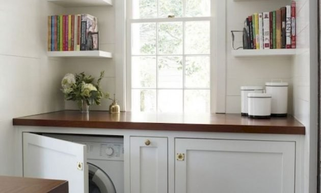 Creative Ways To Hide A Washing Machine In Your Home 19 554x705