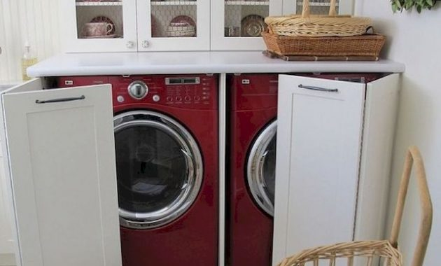 Creative Ways To Hide A Washing Machine In Your Home 20 554x739