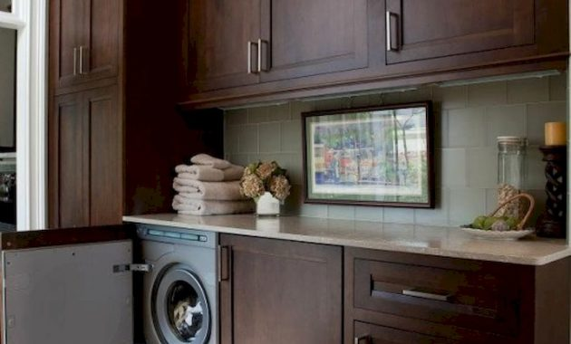 Creative Ways To Hide A Washing Machine In Your Home 24 554x831