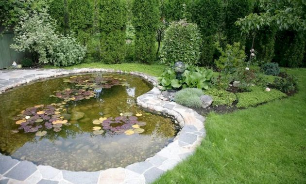 Love Stone Around This Pond