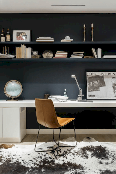 Home Office Black Wall Decor
