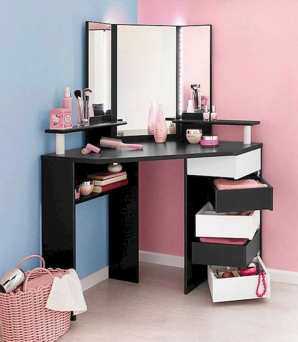 Makeup Vanity Ideas In White