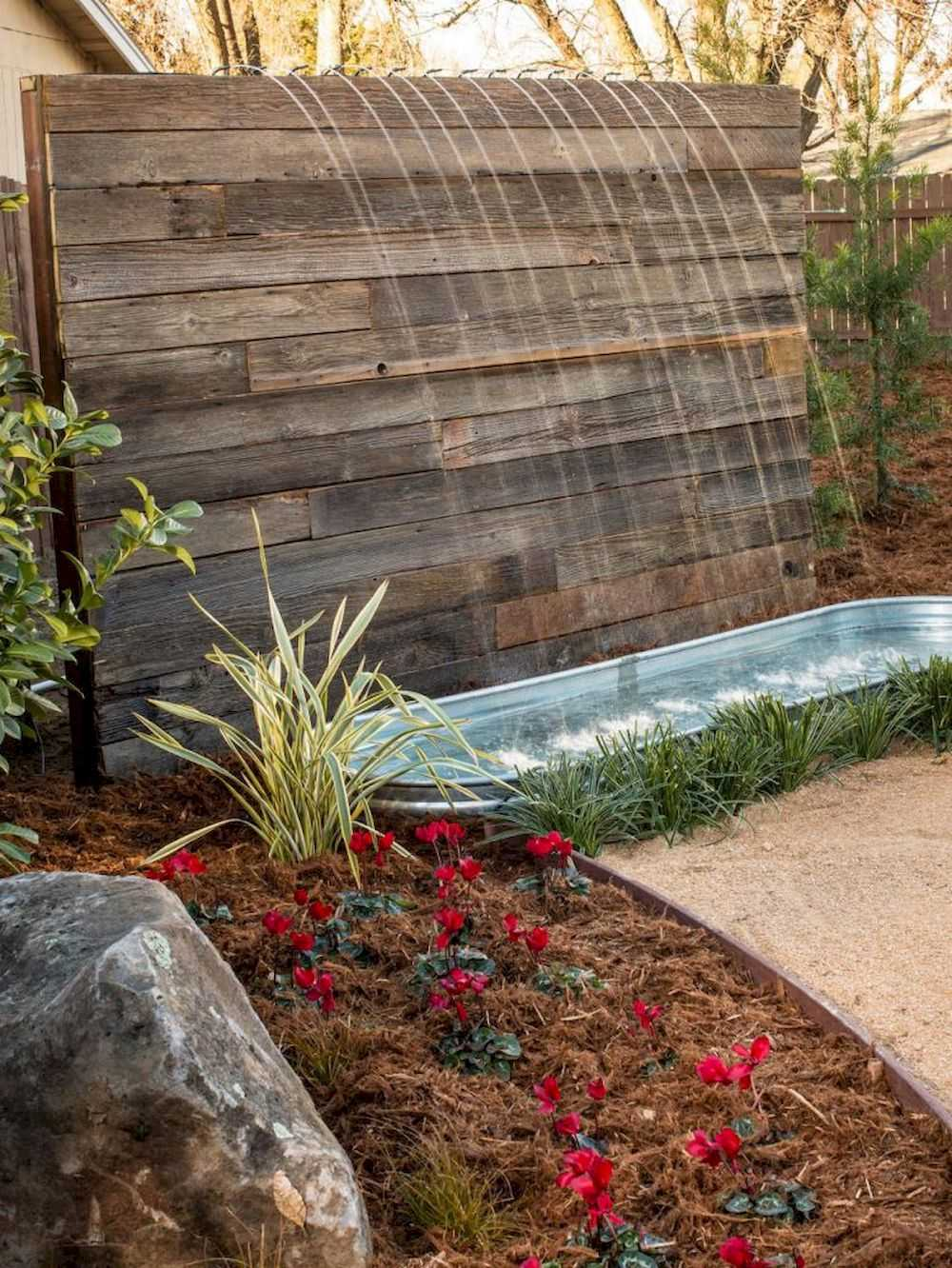 Stone Pavers Is The Best Way To Cover The Area Around Stone Waterfall
