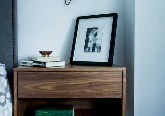 A Modern Floating Cabinet Nightstand With A Drawer Is A Great Solution For Most Of Bedrooms