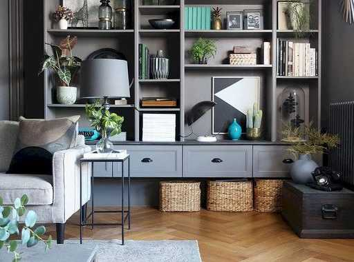 A Simple Set Of Bookshelves Turned Into A Thing Of Style.