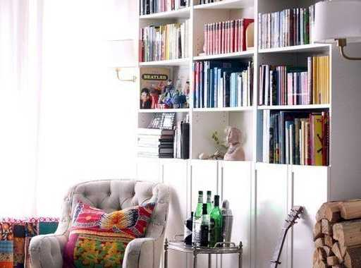 Combining An Open And Closet Storage Is Always A Smart Decision