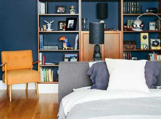 Ikea Billy Could Be A Transparent Bookcase That Showcases The Beautiful Color Of A Wall Behind It.
