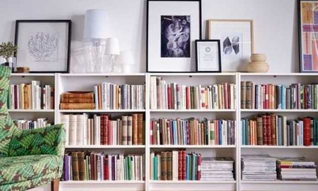 Illy Boockases Could Store Lots Of Books And Provide Enough Surface To Display Pictures.