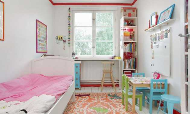 In A Kids Room A Bookcase