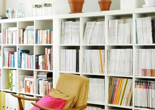 Low Version Of A Bookcase Look Even Better.