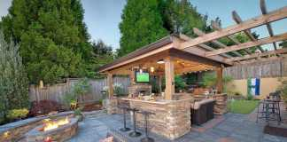Modern Backyard Kitchen Ideas