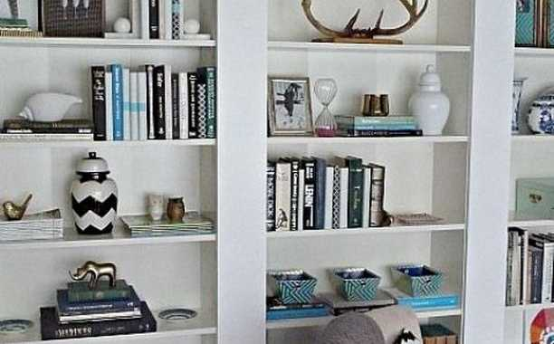 You Can Make A Bunch Of Billy Bookcases Look Like A Real Built In.