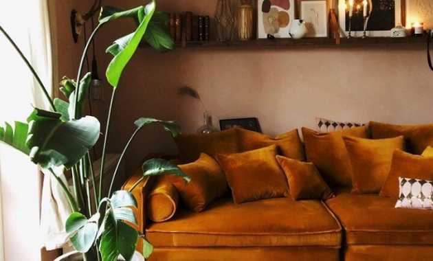 Living Room Warm Color
