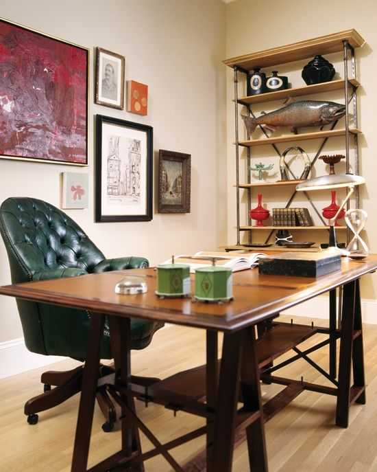 Masculine Home Office