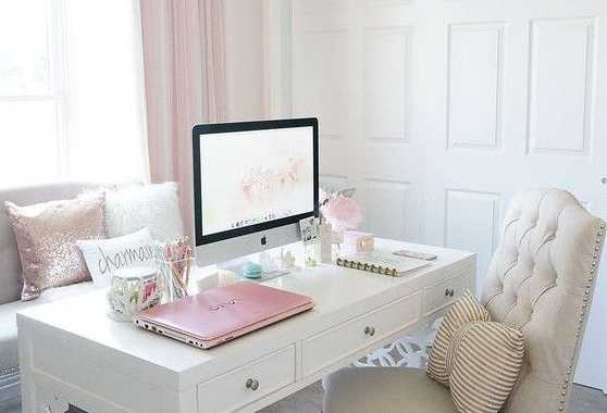 Modern Feminine Home Office Furniture