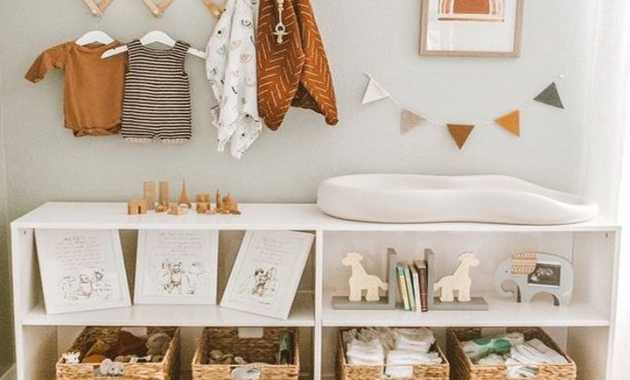 Nursery Organization Ideas