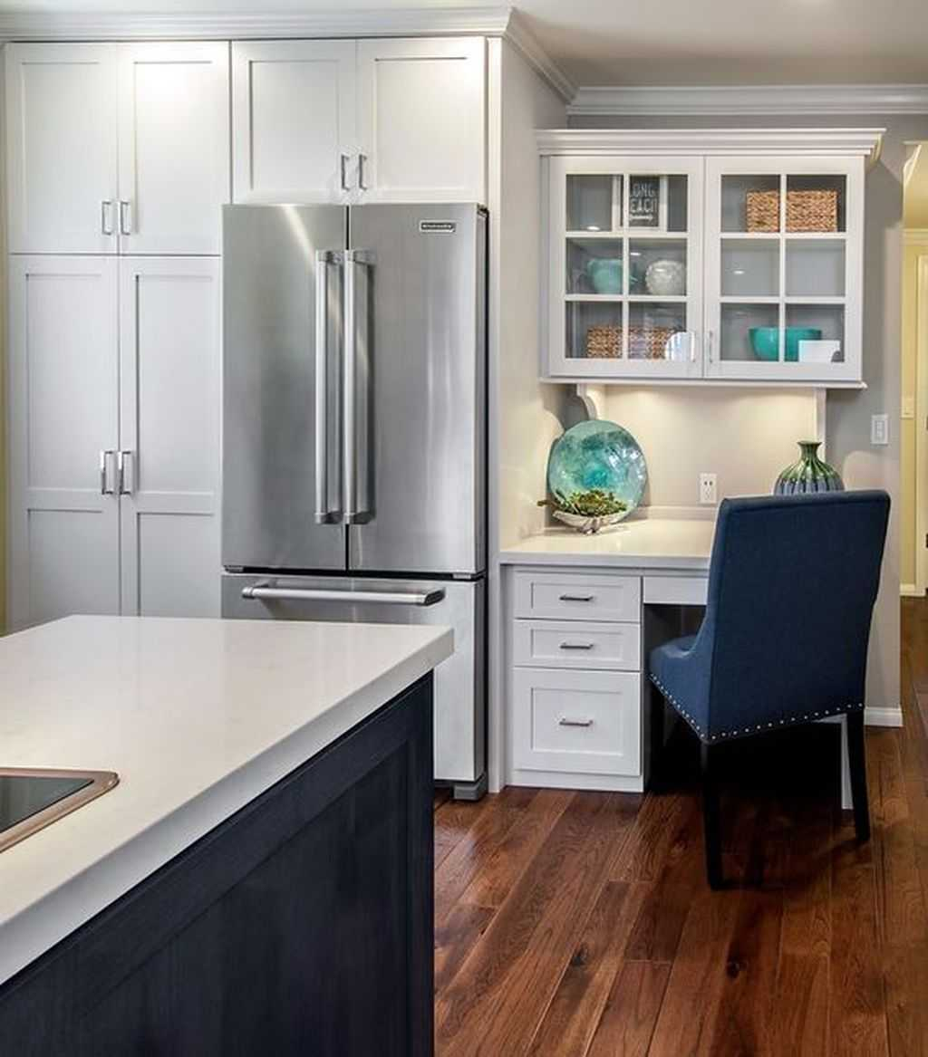 Office Nook Into A Kitchen