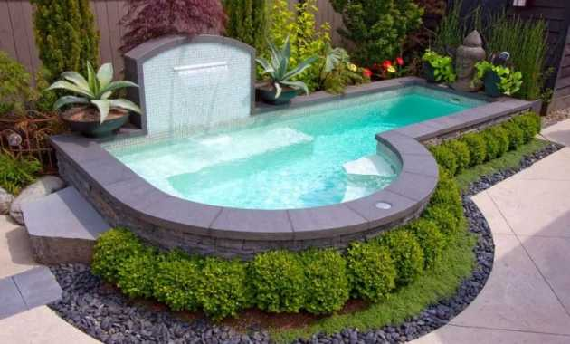 Letter Shaped Pool