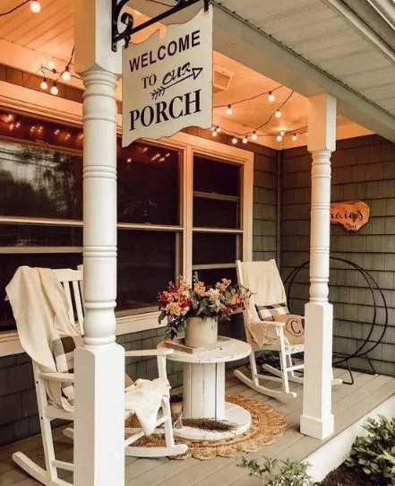 A Lakeside Front Porch