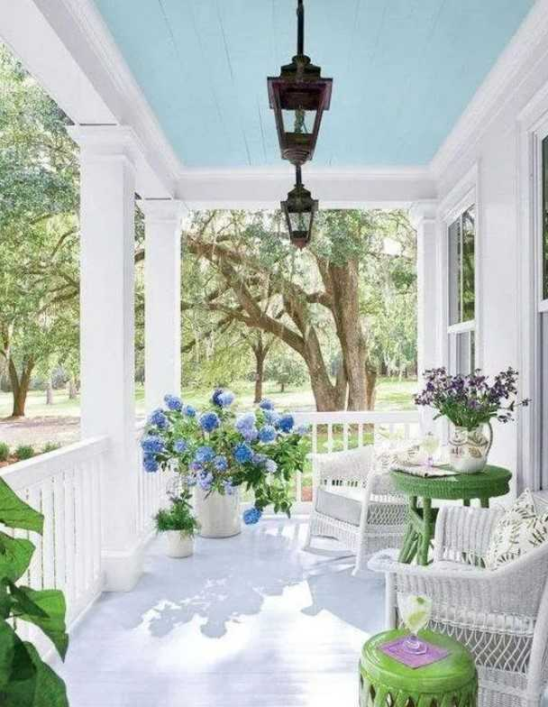Fresh Looking Front Porch