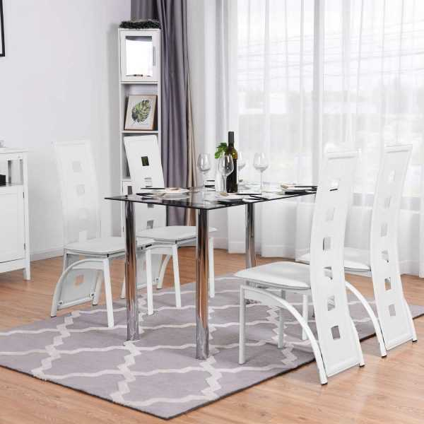 High Back Kitchen Chairs