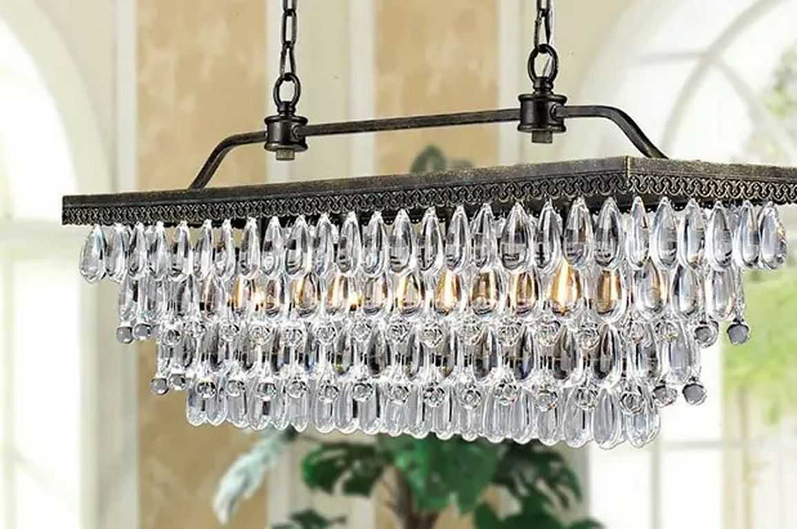 Utilize Crystal Chandeliers