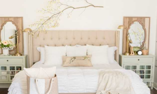 French Country Cottage Inspired Spring Bedroom