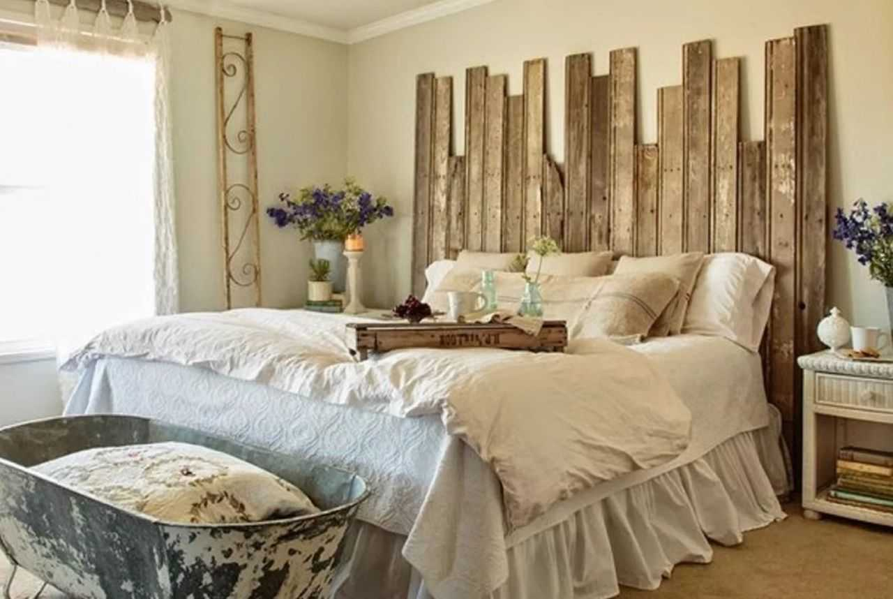 Give Your Bedroom A True Country Chic Vibe By Creating A Diy Headboard From Sliding Barn Doors