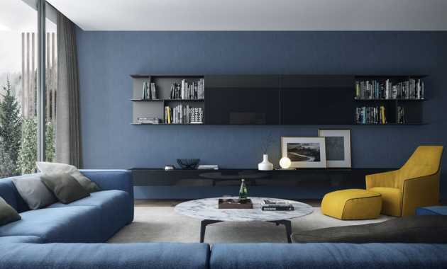 Blue And Yellow Living Room Walls Ugo Concept
