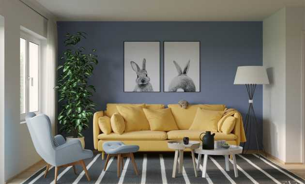 Blue Living Room Ideas Eve Images